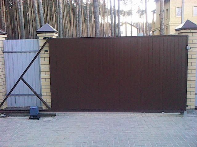 Вороты екатеринбург столб металлический для забора