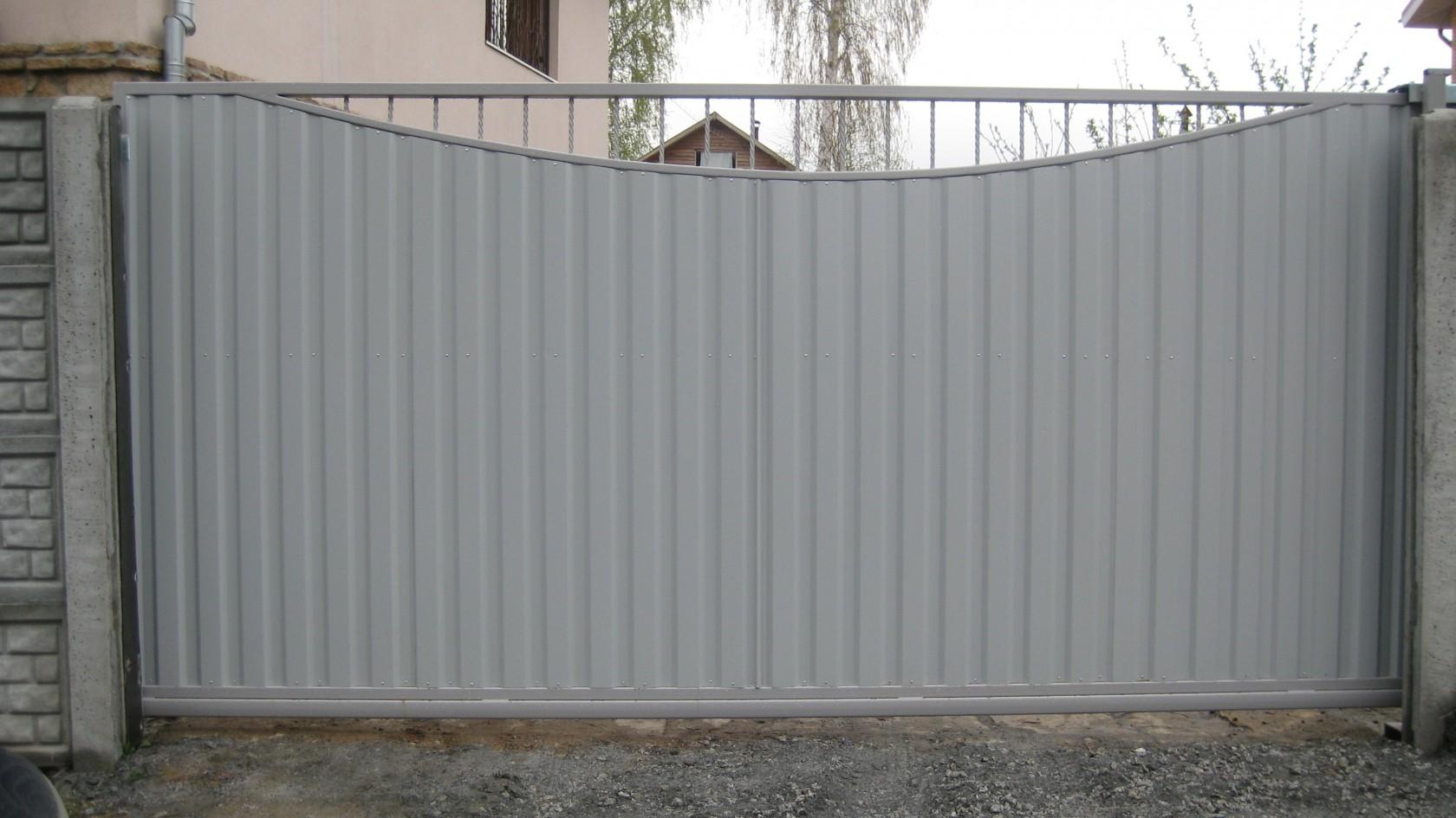 Ворота с электрическим приводом екатеринбург модель железных ворот